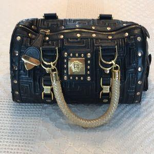 Handbags - Medusa Faux Leather Purse